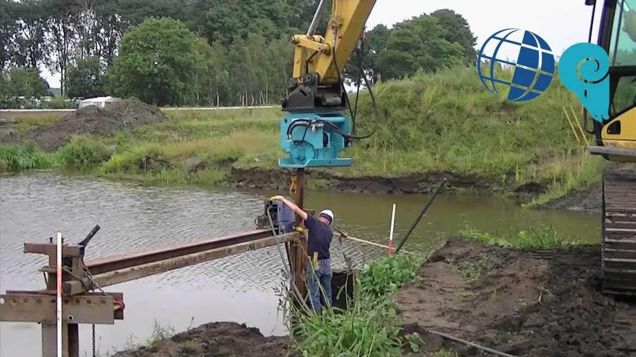 hidraulikus cölöpverő működése