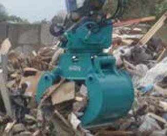 munkagép kanál újrahasznosításhoz