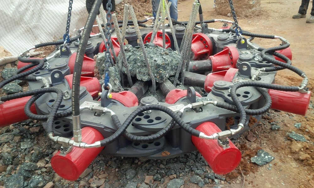 hidraulikus pillérroppantó